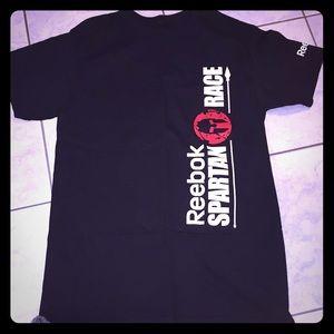 NEW Reebok Spartan Black T-Shirt
